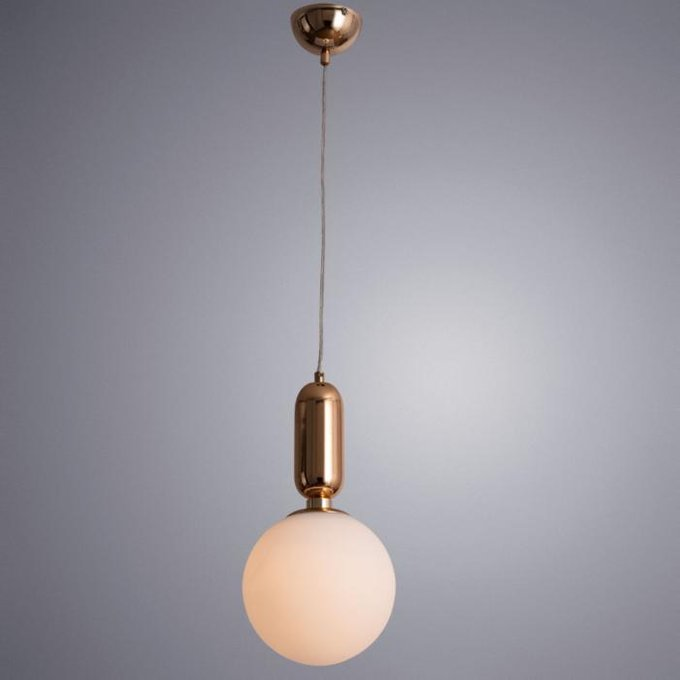 Подвесной светильник Bolla-Sola белого цвета