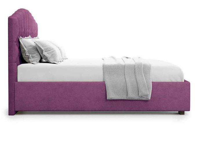 Кровать Lugano без подъемного механизма 160х200 фиолетового цвета