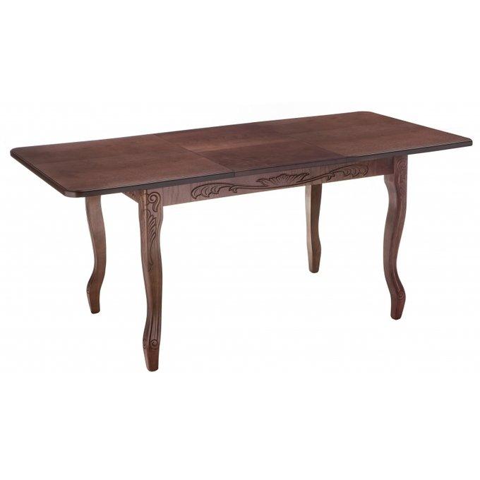 Обеденный раскладной стол Мауро орехового цвета