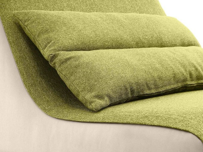 Кресло Neya зелено-бежевого цвета