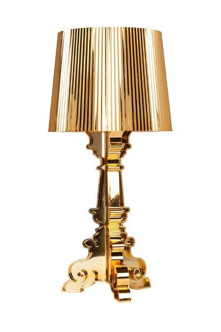 Настольная лампа Bourgie Gold золотого цвета