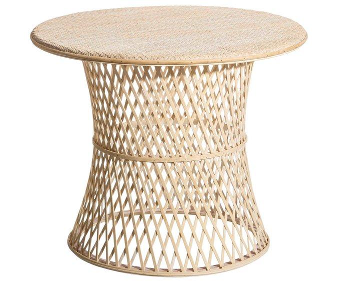 Кофейный стол из бамбука