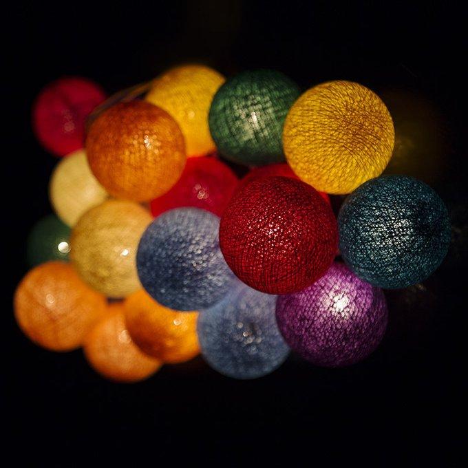 Тайская гирлянда радуга