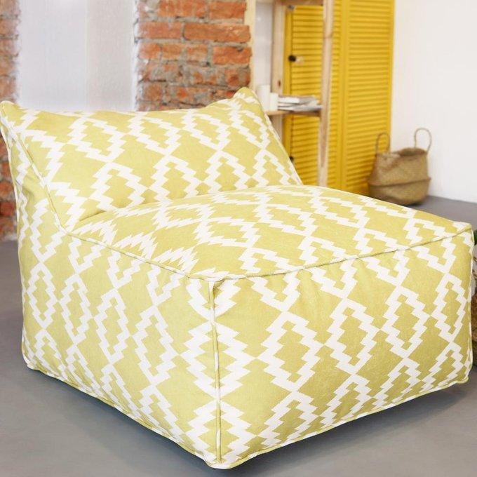 Кресло Angle Design желтого цвета