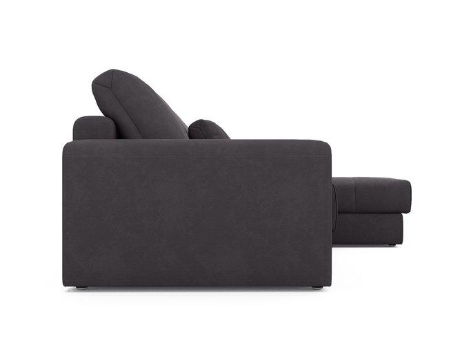 Угловой диван-кровать Ruiz темно-серого цвета