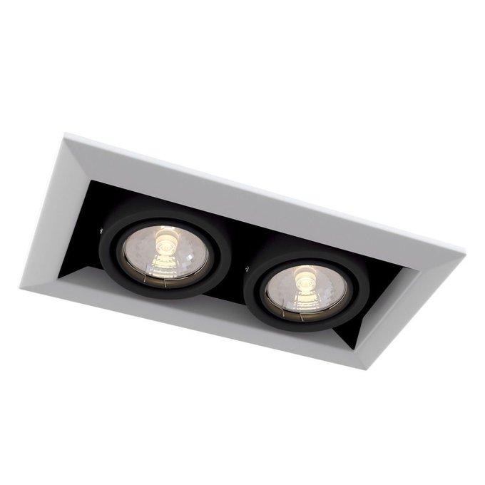 Встраиваемый светильник Metal Modern белого цвета