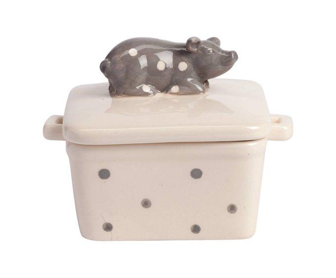 Емкость для хранения с крышкой Dot Pig