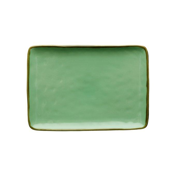 Блюдо Concerto Verde зеленого цвета