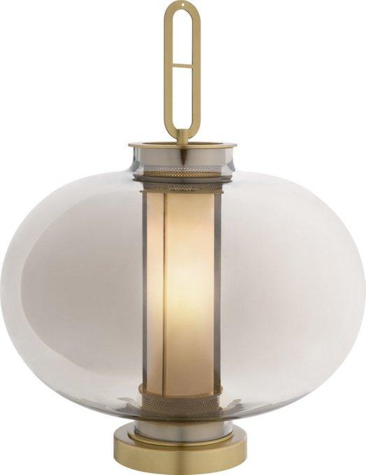 Лампа настольная Grey серого цвета
