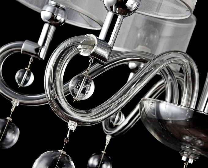"Подвесная люстра MAYTONI ""Bubble Dreams"" с прозрачными абажурами"