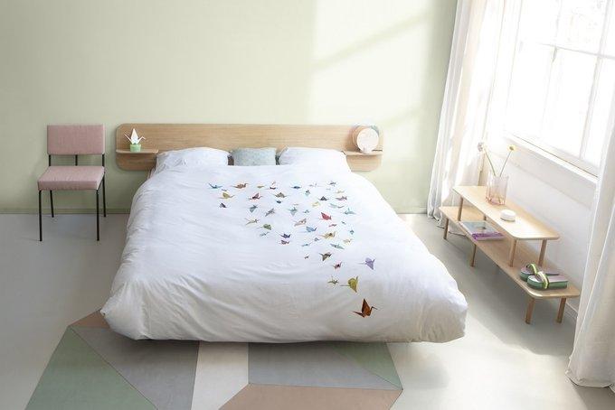 Комплект постельного белья Журавлики
