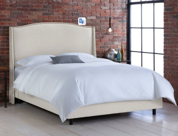 Кровать Cole Wingback Talc 180х200