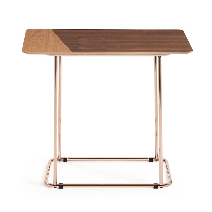 Кофейный столик Aitana в медной отделке