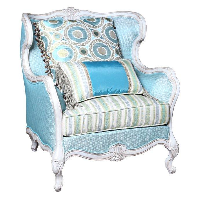 Кресло бирюзовое Сан-Марин