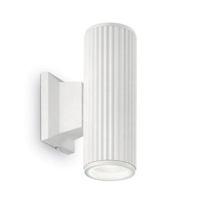 Уличный настенный светильник Base белого цвета