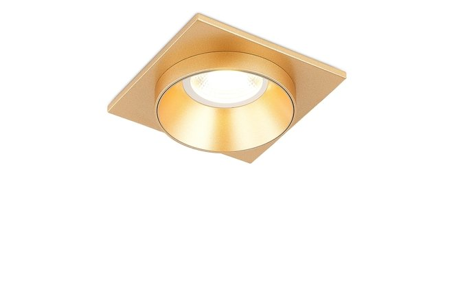 Встроенный светильник Avrila золотого цвета