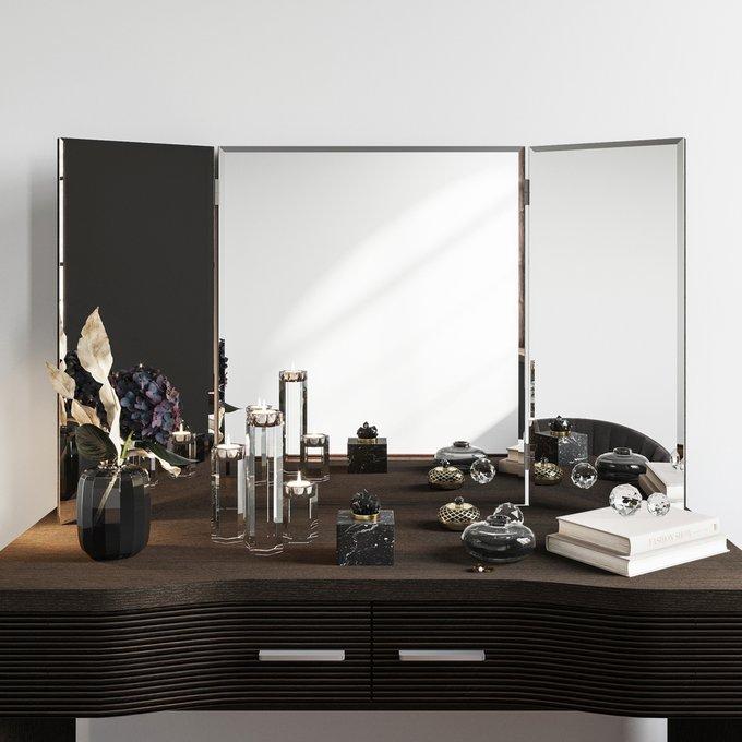 Настенное зеркало-трельяж Элеонора