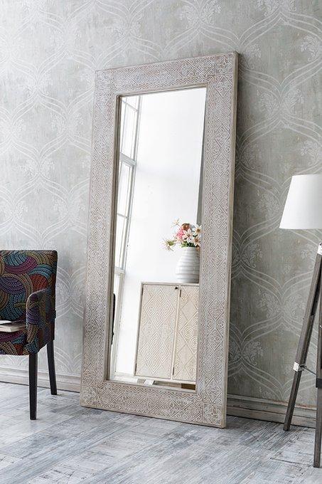 Зеркало в раме Papua Large Oak
