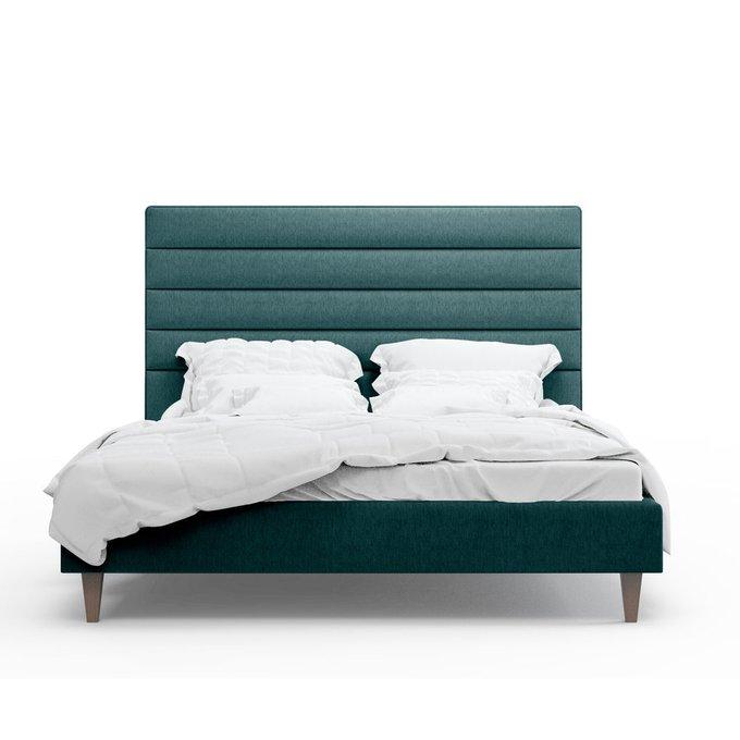 Кровать Джейси зеленого цвета 200х200