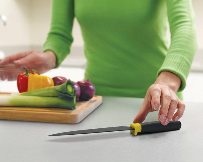 Шеф-нож Elevate желтый