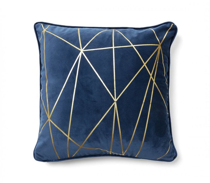 Чехол на подушку Burton темно-синего цвета
