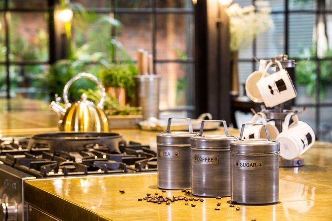 Ёмкость для хранения чая Industrial Kitchen с потертой поверхностью