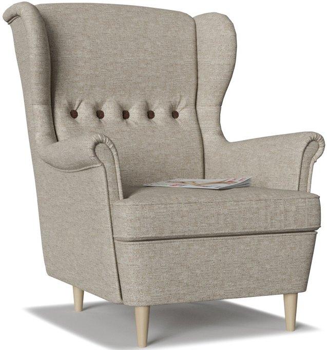 Кресло Торн Beige Chocolate серо-бежевого цвета