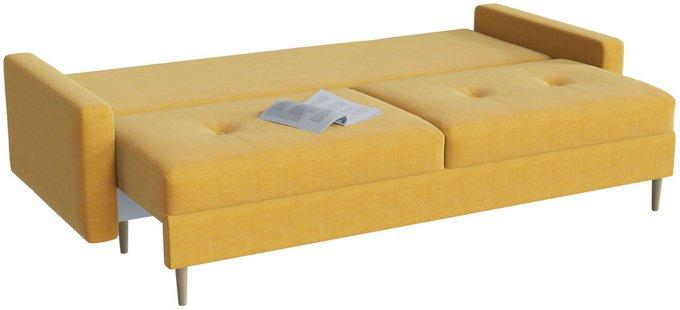 Диван-кровать Белфаст Yellow желтого цвета