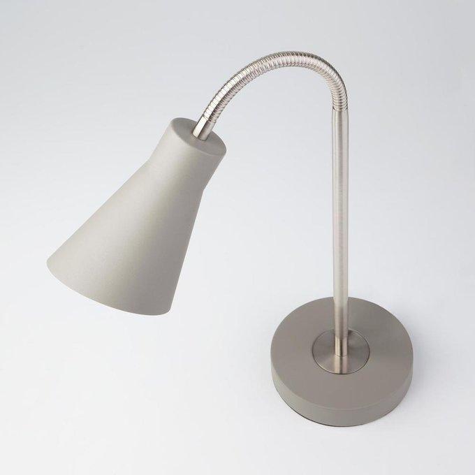 Настольная лампа Pronto серого цвета