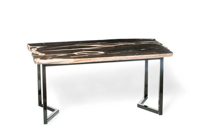 Обеденный стол Бинтау из окаменелого дерева 381101
