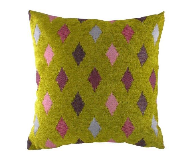 Подушка с орнаментом Avocado