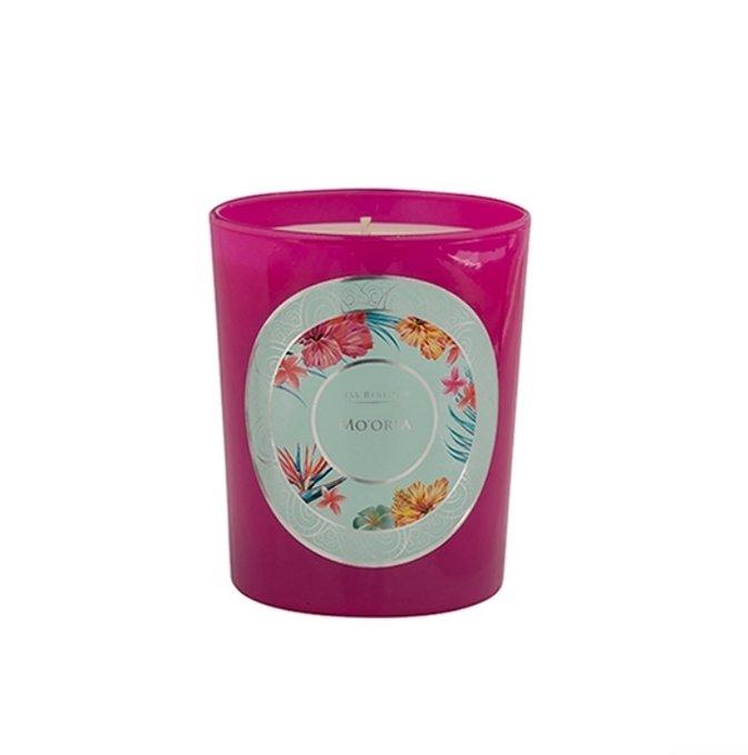 Ароматическая свеча Mo'orea пурпурного цвета