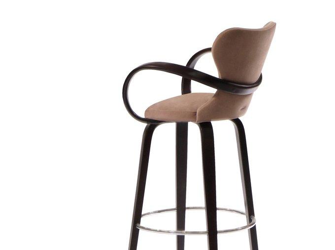 Барный стул Apriori S коричневого цвета