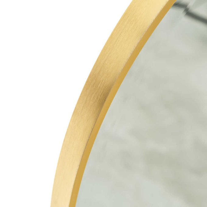 Зеркало настенное золотого цвета
