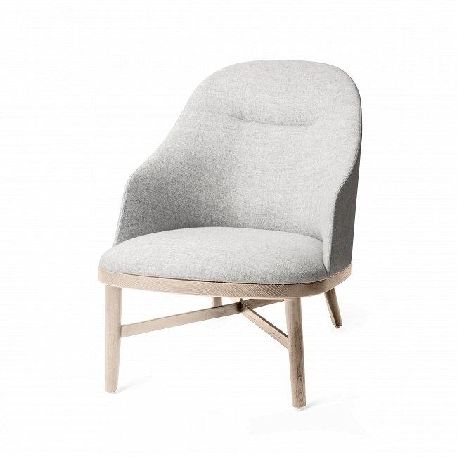 Кресло Bund светло-серого цвета