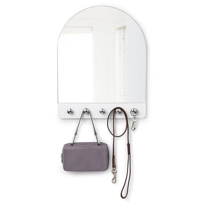 Зеркало настенное Umbra peek белое
