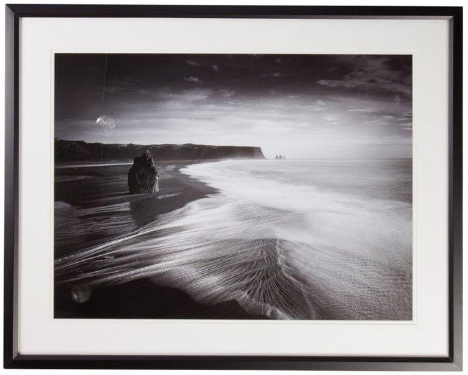 "Постер с паспарту в раме ""Coastal View"""
