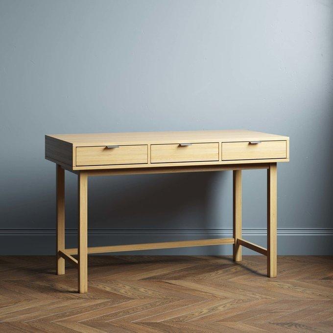 Письменный стол Marinas New 140х60 черного цвета