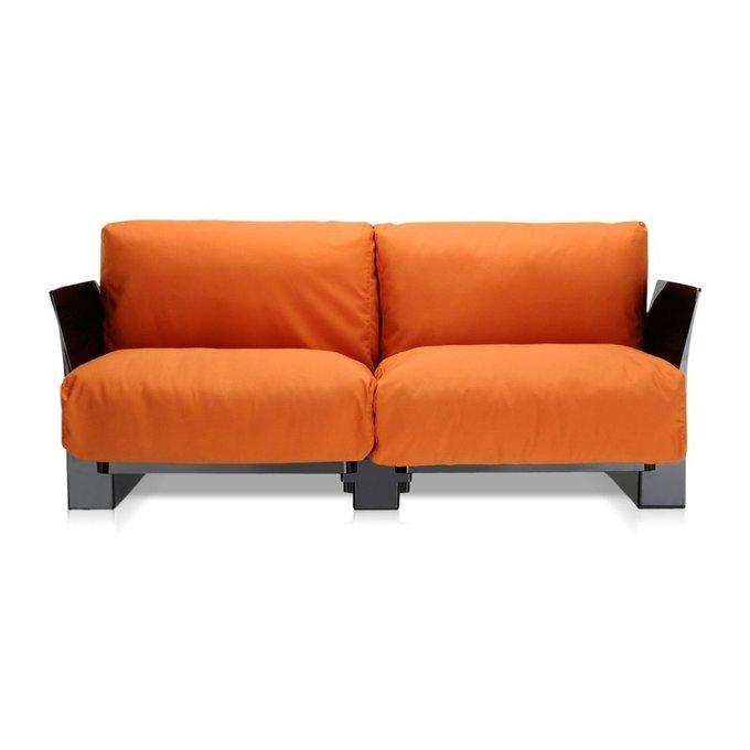 Диван Pop двухместный оранжевого цвета