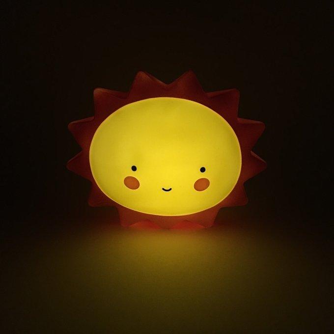 Детский ночник Sun из пластика
