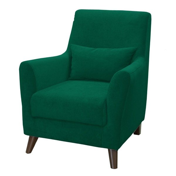 Кресло Либерти изумрудного цвета