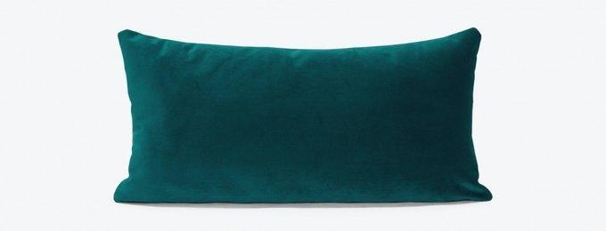 Набор из двух подушек сине-зеленого цвета