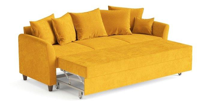 Диван-кровать Катарина желтого цвета