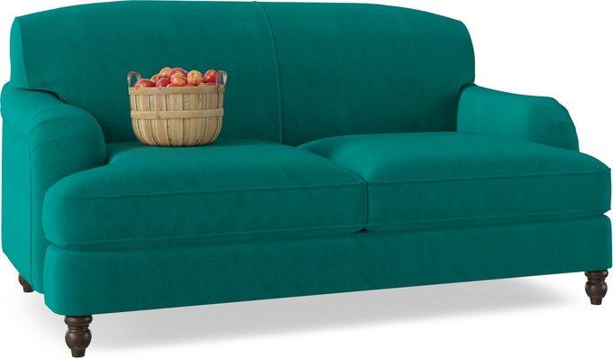 Диван-кровать One Luna зеленого цвета