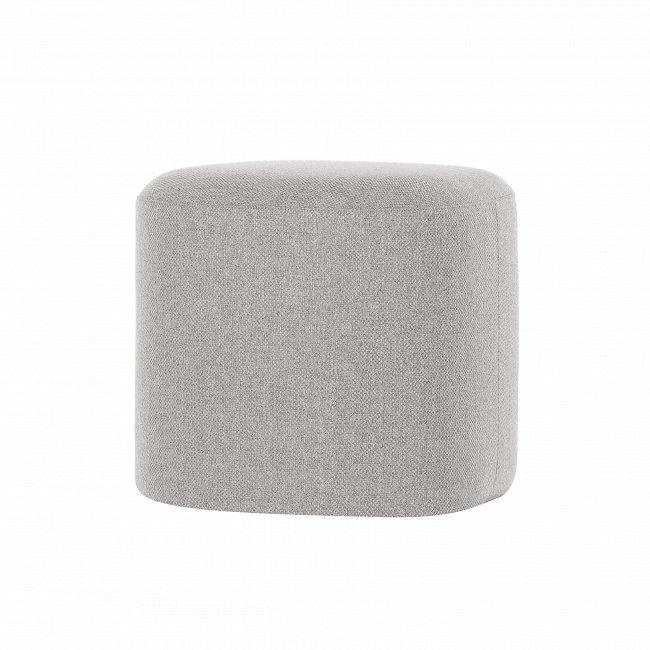 Пуф Pawai Low квадратный серого цвета