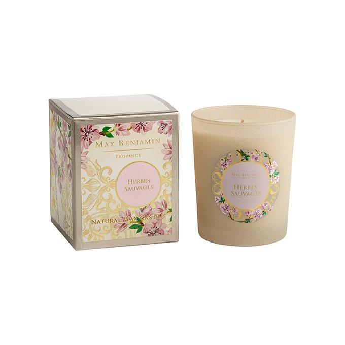 Ароматическая свеча Provence Herbes Sauvages бежевого цвета