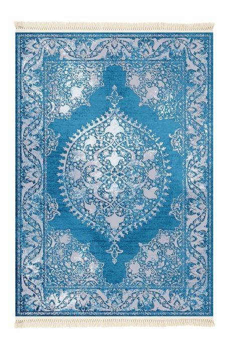 Ковер синего цвета 80x150