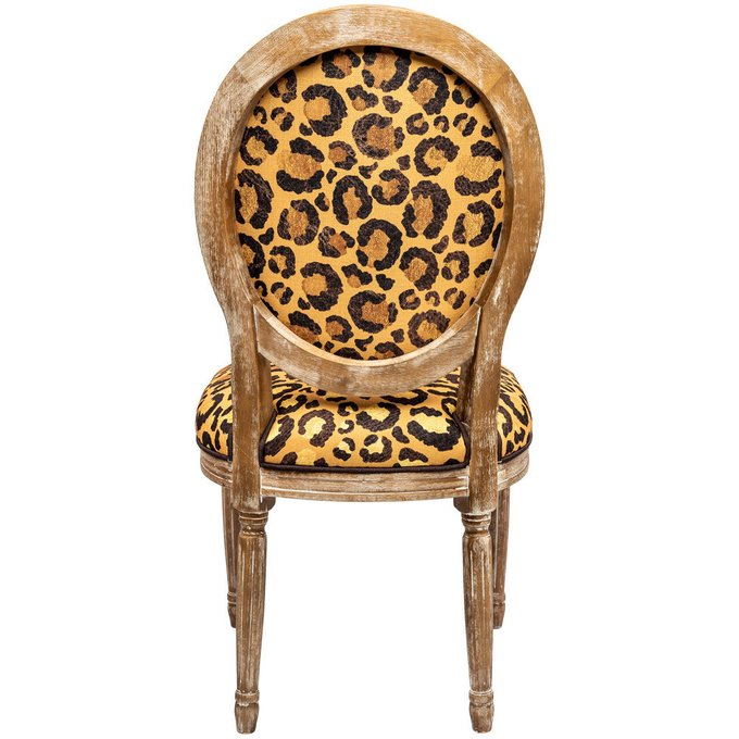 Стул Леопард с каркасом из натурального бука