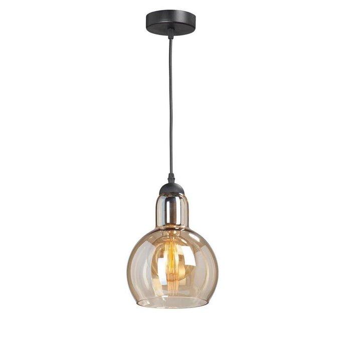 Подвесной светильник бежевого цвета