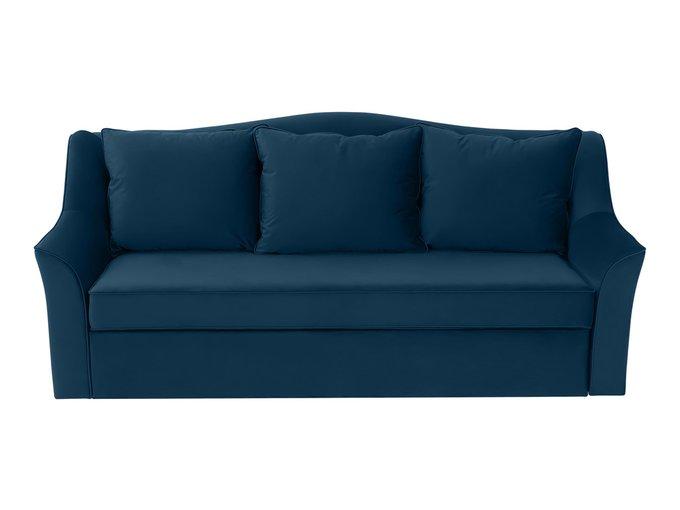 Диван-кровать Vermont синего цвета